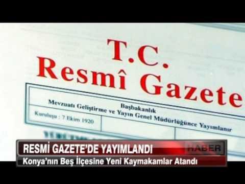 Resmi Gazete'de Yayımlandı