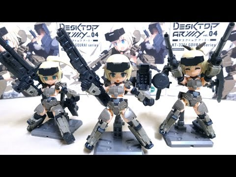 【DESKTOP ARMY】KT-321f Gourai wotafa's review from YouTube · Duration:  11 minutes 4 seconds