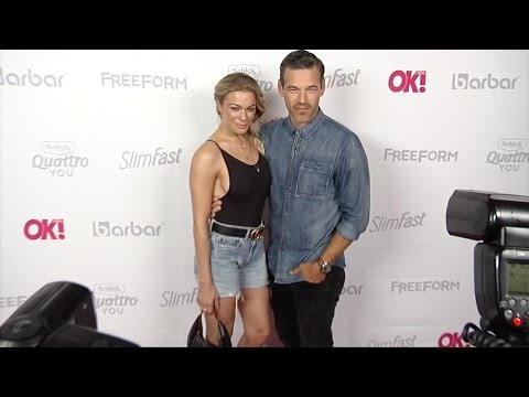 LeAnn Rimes and Eddie Cibrian OK! Magazine Summer Kick-Off Party