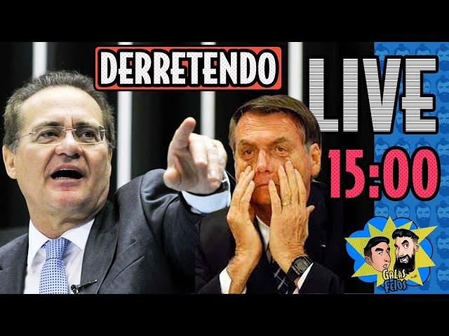 LIVE: CPI vai ser o pesadelo de Bolsonaro? | Galãs Feios