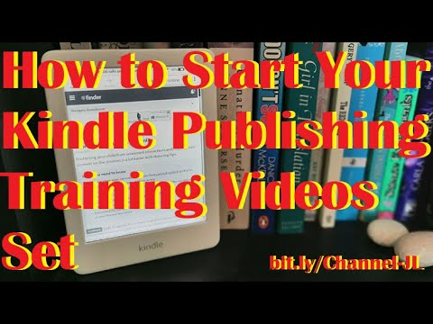 How To Start Your Kindle Publishing Training Videos Set