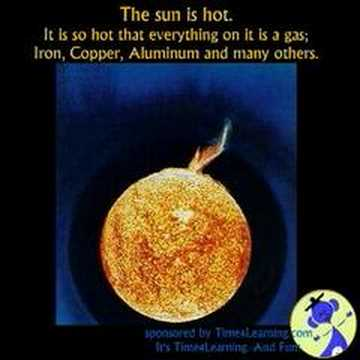 The Sun Is A Mass of Incandescent Gas