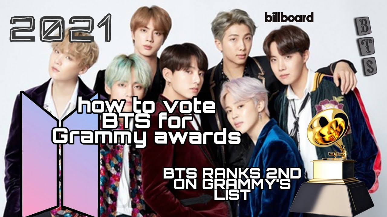 how to vote for bts in grammy 2021 bts may win grammy s 2021 youtube youtube