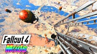 FALLOUT 4 MODS #2 - LEROOOY JENKINS & FUNNY GUN MODS! (Fallout 4 Mod Gameplay)