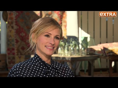 Julia Roberts Gives Advice for a Successful Marriage, Talks 'Secret in Their Eyes'