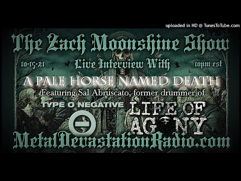 A Pale Horse Named Death - Interview 2021 - The Zach Moonshine Show