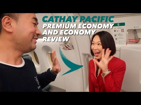My Cathay Pacific Premium Economy and Economy Flights