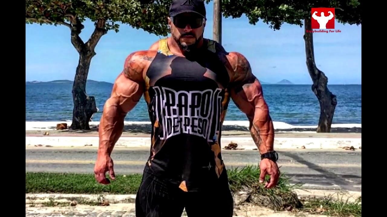Brazilian MONSTER HULK BRUNO MORAES Bodybuilder