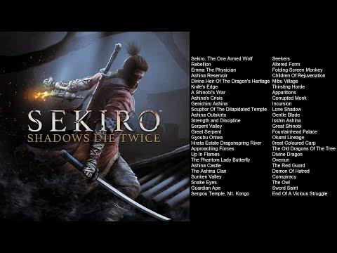 Sekiro: Shadows Die Twice Original Soundtrack