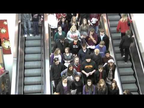 RHS Choir Flashmob at Scheels in Sioux Falls, S.D.