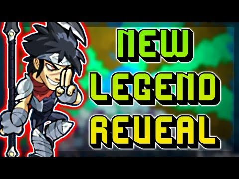 NEW LEGEND JIRO REVEALED!! • FIRST REACTIONS • Brawlhalla Gameplay from YouTube · Duration:  10 minutes 29 seconds