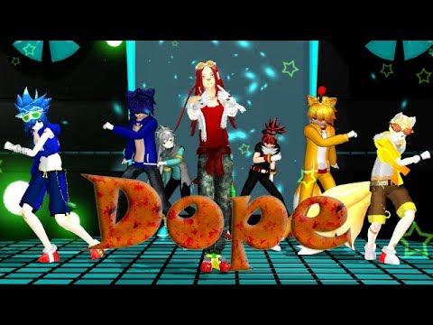 MMD Dope - Sonic (Human Versions)