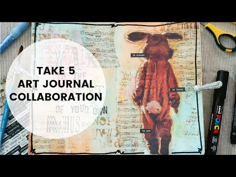 Take 5 Art Collaboration | Walk To The Beat Of Your Own Music