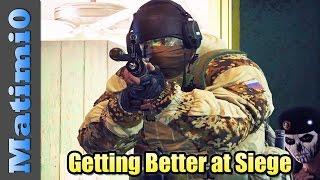 Getting Better at Rainbow Six Siege