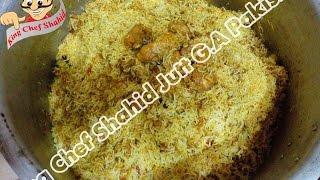 Chicken Biryani Karachi Special (4Kg) By King Chef Shahid Jutt