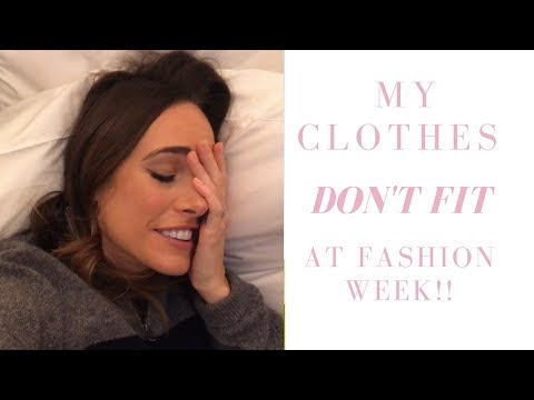 Vlog 12 - My Clothes Don't Fit at Fashion Week!!