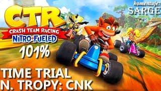 Zagrajmy w Crash Team Racing: Nitro-Fueled PL (101%) BONUS #8  - Time Trial: N. Tropy CNK