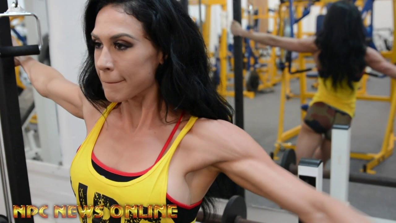 3-Time Bikini Olympia Champion Ashley Kaltwasser 2018 Olympia Shoulder Workout