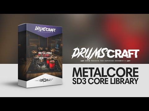 Superior Drummer 3 Presets / metalCORE   Develop Device