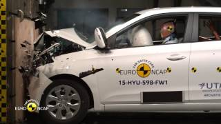 23 Crash Test of Hyundai i20 2015 Краш тест Хюндай i20 2015 смотреть