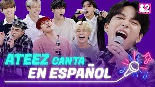 "ATEEZ canta ""Wonderland"" en español | Try-lingual Live"