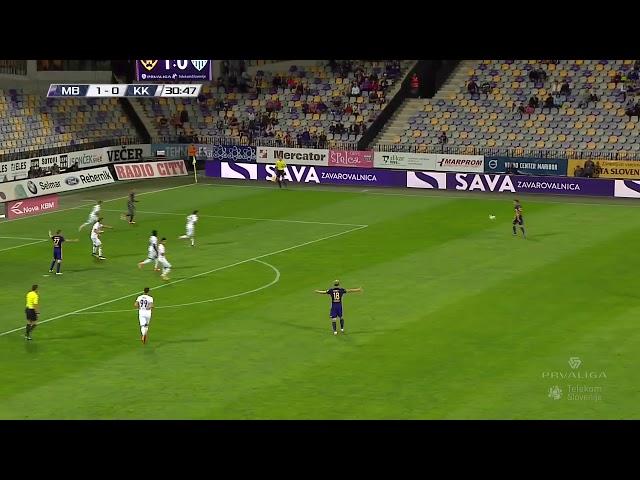 6. krog: Maribor - Krško 3:2 ; Prva liga Telekom Slovenije 2017/18