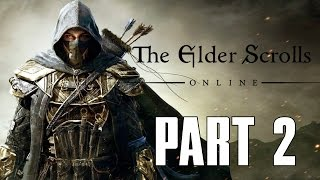 Elder Scrolls Online: Gold Edition - Part 2 - TEMPLAR GAMEPLAY (PS4 HD)