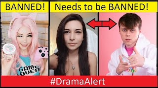 Belle Delphine instagram BANNED! #DramaAlert imallexx BUSTED! - Alinity CAT video!