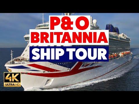 P&O Britannia FULL SHIP TOUR