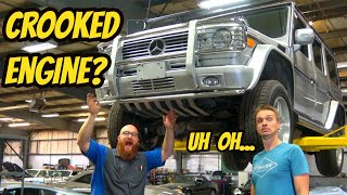 Everything That's Broken On The Cheapest Mercedes G55 AMG (CROOKED MOUNTED ENGINE???)