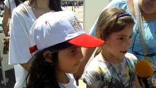 Τα παιδιά για τα Παιχνίδια της Αλάνας