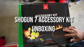 Atomos Shogun 7 Accessory kit unboxing