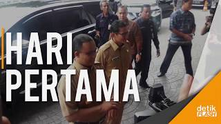 Intip Kilas Hari Pertama Gubernur & Wakil Gubernur Baru DKI Jakarta