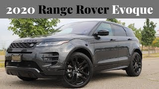 Reviewing the new 2020 Range Rover Evoque luxury crossover