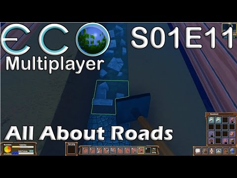 Let's Play Eco | S01E11 Solo | All About Roads