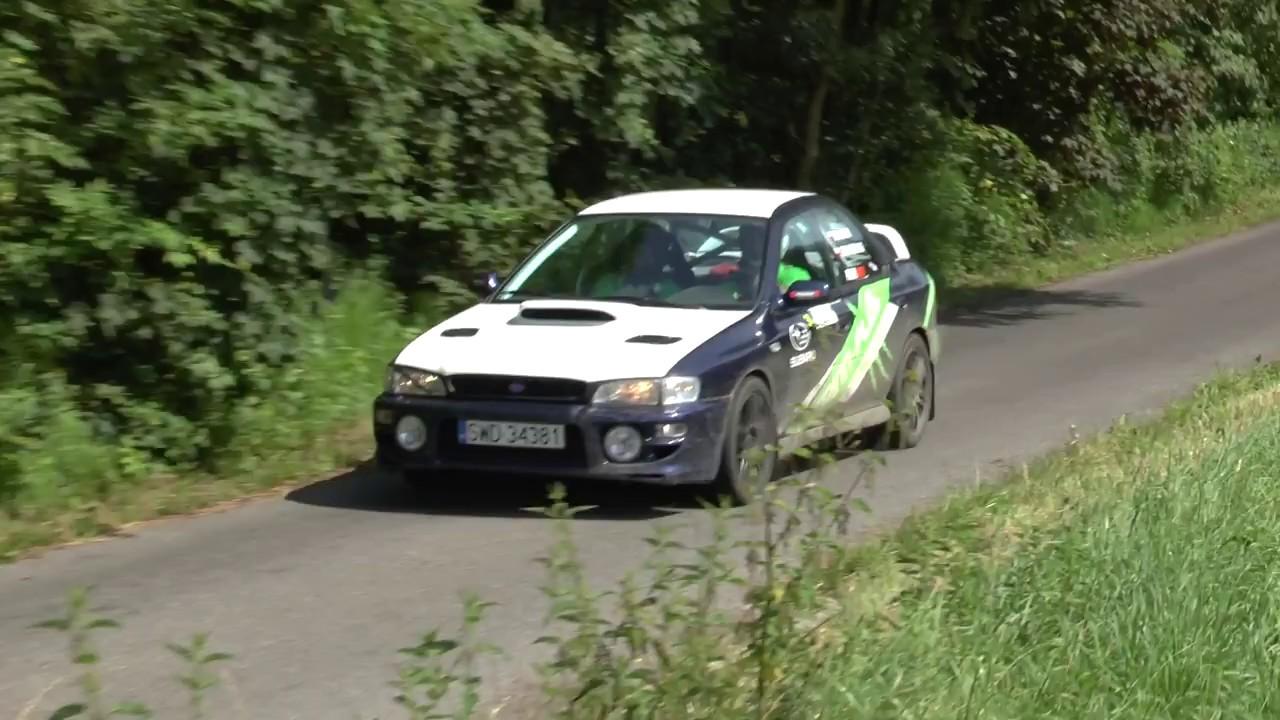 2 Runda RPPRajdowka.pl 2017 – Mariusz Blacha / Radosław Gruszecki – Subaru Impreza