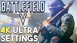 Battlefield 5 PC ULTRA Settings 4K Gameplay Performance (GTX 1080)