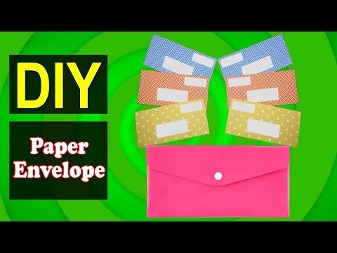 How to Make Paper Envelope 02 | Easy DIY Paper Design | Why Crafts