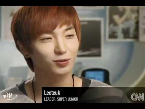 101109 Super Junior Leeteuk & Siwon - Interview @ CNN [Boy band mayhem in South Korea]