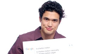 Charles Melton Answers the Web