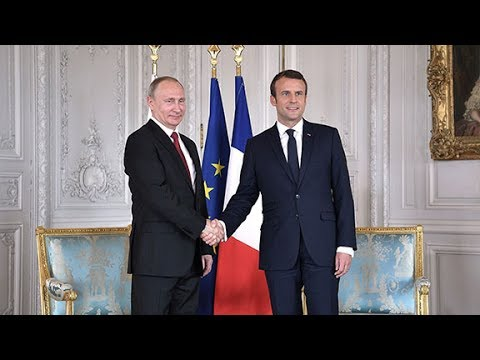 Terrorism, Syrian conflict top agenda at Macron-Putin's meeting in Versailles