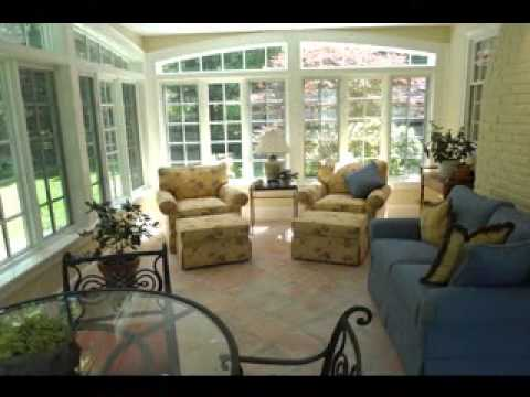 Sunroom decorating ideas - YouTube