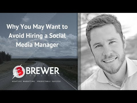 Financial Advisor Marketing: Why You May Want to Avoid Hiring a Social Media Manager