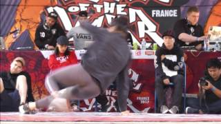 Finale Battle Bgirls - Monster Blaster Battle Of The Year France 2017