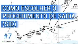 Como escolher o procedimento de saída - SID (Dicas de simulador de voo #7)