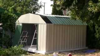 20 HOW TO BUILD A SEARS METAL SHED (end)