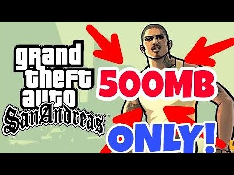 download gta san andreas highly compressed 600mb for pc