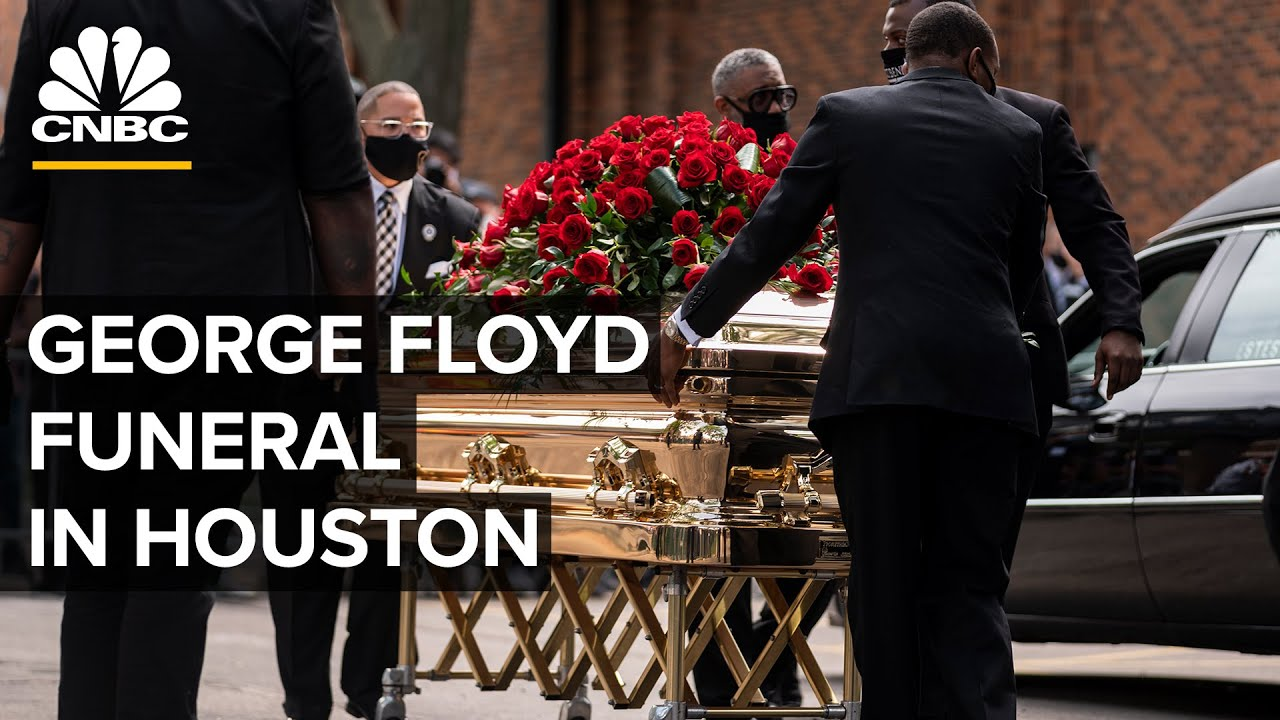 Live updates: George Floyd funeral service in Houston today