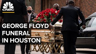 George Floyd funeral takes place in Houston as protests continue ⁠— 6/9/2020