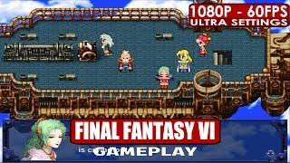 Final Fantasy VI gameplay PC HD [1080p/60fps]